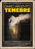 "Movie Posters:Horror, Tenebre (Titanus Distributors, 1982). Italian 2 - Fogli (39.25"" X55""). Horror.. ..."