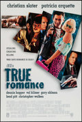 "Movie Posters:Crime, True Romance (Warner Brothers, 1993). One Sheet (27"" X 40"") DS.Crime.. ..."