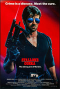 """Movie Posters:Action, Cobra (Warner Brothers, 1986). One Sheets (2) (27"""" X 40.5"""" & 27"""" X 41"""") SS. Action.. ... (Total: 2 Items)"""