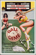 """Movie Posters:Adult, Ballgame & Others Lot (Evolution Enterprise, 1980). One Sheets (3) (27"""" X 41""""). Adult.. ... (Total: 3 Items)"""