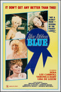 """Movie Posters:Adult, Blue Ribbon Blue & Others Lot (Cinevogue Films, 1985). One Sheets (3) (27"""" X 41"""") & Uncut Ad Mat (4 Pages, 8.5"""" X 12""""). Adul... (Total: 4 Items)"""