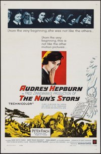 "The Nun's Story (Warner Brothers, 1959). One Sheet (27"" X 41""). Drama"