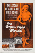 "Movie Posters:Bad Girl, The Green-Eyed Blonde (Warner Brothers, 1957). One Sheet (27"" X41""). Bad Girl.. ..."