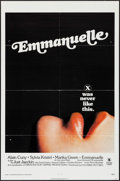 """Movie Posters:Adult, Emmanuelle & Other Lot (Columbia, 1974). One Sheets (2) (27"""" X 41"""") & Uncut Pressbooks (2) (11"""" X 17"""" & 8.5"""" X 11""""). Adult.... (Total: 4 Items)"""