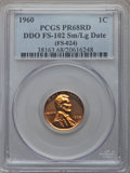 1960 1C Small Over Large Date, FS-102, PR68 Red PCGS....(PCGS# 38163)