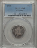 Early Dimes: , 1805 10C 5 Berries Good 6 PCGS. PCGS Population (7/35). ...