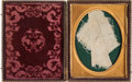 Political:Presidential Relics, Abraham Lincoln: An Important Section of Blood-Stained Towel from Peterson House, Used to Bind the President's Wound on the Ni...