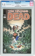 Modern Age (1980-Present):Horror, Walking Dead #1 Wizard World Austin Edition (Image, 2015) CGC NM/MT9.8 White pages....