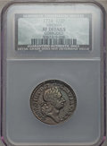 1724 1/2 P Hibernia Halfpenny -- Corroded -- NCS. XF Details. NGC Census: (2/11). PCGS Population (10/39). ...(PCGS# 190...