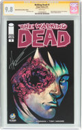 Modern Age (1980-Present):Horror, Walking Dead #1 Wizard World Des Moines Edition - Signature Series(Image, 2015) CGC NM/MT 9.8 White pages....