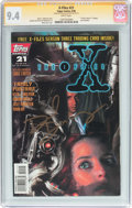 Modern Age (1980-Present):Science Fiction, X-Files #21 Signature Series (IDW Publishing, 1996) CGC NM 9.4White pages....
