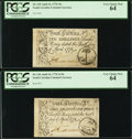 Colonial Notes:South Carolina, South Carolina April 10, 1778 3s/9d and 10s Both PCGS Very ChoiceNew 64.. ... (Total: 2 notes)