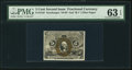 Fractional Currency:Second Issue, Fr. 1235 5¢ Second Issue PMG Choice Uncirculated 63 EPQ.. ...