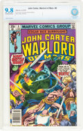 Bronze Age (1970-1979):Adventure, John Carter, Warlord of Mars #9 (Marvel, 1978) CBCS NM/MT 9.8 Off-white to white pages....