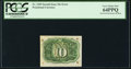 Fractional Currency:Second Issue, Fr. 1249 10¢ Second Issue Inverted Back Surcharge PCGS Very Choice New 64PPQ.. ...