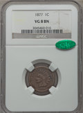 1877 1C VG8 NGC. CAC. NGC Census: (243/1656). PCGS Population (400/2700). Mintage: 852,500. CDN Wsl. Price for problem f...