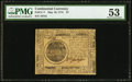 Continental Currency May 10, 1775 $7 PMG About Uncirculated 53