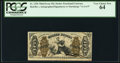 Fractional Currency:Third Issue, Fr. 1356 50¢ Third Issue Justice PCGS Very Choice New 64.. ...