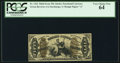 Fractional Currency:Third Issue, Fr. 1361 50¢ Third Issue Justice PCGS Very Choice New 64.. ...