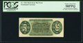 Fractional Currency:Third Issue, Fr. 1364 50¢ Third Issue Justice Inverted Back Surcharge PCGS Choice About New 58PPQ.. ...