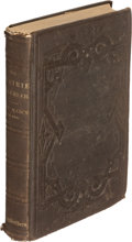 Books:Travels & Voyages, [Larry McMurtry]. Randolph B. Marcy. The Prairie Traveller. New York: 1859. First edition. From the Western Americ...