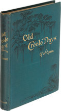 Books:Literature Pre-1900, George W. Cable. Old Creole Days. New York: 1879. Firstedition....