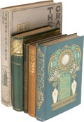 Books:Literature Pre-1900, George W. Cable. Lot of Five Titles. New York: 1880-1899. Mainly first editions.... (Total: 5 Items)