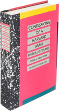 Books:Fine Press & Book Arts, [Kay Boyle]. Harold Stears. Confessions of a Harvard Man.Sutton West: [1984]. First expanded edition, limited, sig...