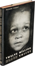 Books:Literature 1900-up, Richard Wright. Twelve Million Black Voices. London: 1947.First English edition....