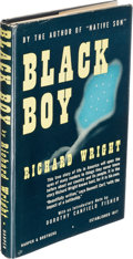 Books:Literature 1900-up, Richard Wright. Black Boy. New York: [1945]. Unbound advancereview copy and first trade edition.. ... (Total: 2 Items)