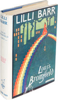 Books:Literature 1900-up, Louis Bromfield. Lilli Barr. London: [1926]. First English edition.. ...