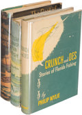 """Books:Literature 1900-up, Philip Wylie. Group of Three """"Crunch and Des"""" Fishing Titles. NewYork [1944-1948]. First editions.... (Total: 3 Items)"""