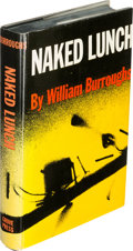 Books:Literature 1900-up, William S. Burroughs. Naked Lunch. New York: [1959]. FirstU. S. edition, signed.... (Total: 2 Items)