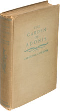 Books:Literature 1900-up, Caroline Gordon. The Garden of Adonis. New York: 1937. Firstedition, inscribed by the author to her daughter....