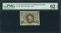 Fractional Currency:Second Issue, Fr. 1233 5¢ Second Issue PMG Uncirculated 62 EPQ.. ...