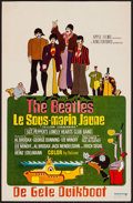 "Movie Posters:Animation, Yellow Submarine (United Artists, 1968). Belgian (13.75"" X 21""). Animation.. ..."