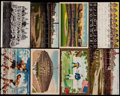 Baseball Collectibles:Others, Vintage Baseball Postcards Lot Of 36. ...