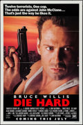 "Movie Posters:Action, Die Hard (20th Century Fox, 1988). One Sheet (27"" X 41"") SSAdvance. Action.. ..."