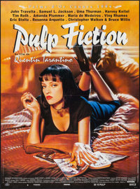 "Pulp Fiction (Miramax International, 1994). French Grande (45.5"" X 62""). Crime"