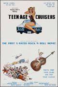 """Movie Posters:Adult, Young, Hot 'n Nasty Teenage Cruisers & Other Lot (VCX, 1977). One Sheets (2) (23"""" X 35"""" & 25.25"""" X 41""""). Adult.. ... (Total: 2 Items)"""