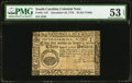 Colonial Notes:South Carolina, South Carolina December 23, 1776 $3 PMG About Uncirculated 53 EPQ.....