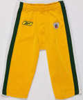 Football Collectibles:Uniforms, 2009 Green Bay Packers Game Worn Pants....