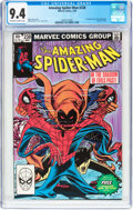 Modern Age (1980-Present):Superhero, The Amazing Spider-Man #238 (Marvel, 1983) CGC NM 9.4 Off-white towhite pages....