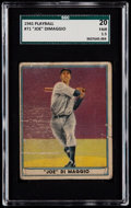 Baseball Cards:Singles (1940-1949), 1941 Play Ball Joe DiMaggio #71 SGC 20 Fair 1.5....
