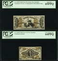 Fractional Currency:Third Issue, Fr. 1254SP 10¢ Third Issue PCGS Very Choice New 64PPQ and Fr. 1355SP 50¢ Third Issue PCGS Gem New 65PPQ.. ... (Total: 2 notes)