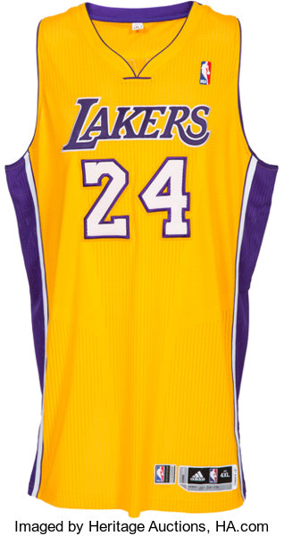 7815a97dbb6 2012-13 Kobe Bryant Game Worn Los Angeles Lakers Jersey with