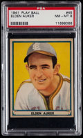 Baseball Cards:Singles (1940-1949), 1941 Play Ball Elden Auker #45 PSA NM-MT 8....