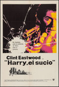 "Movie Posters:Crime, Dirty Harry (Warner Brothers, 1972). Argentinean Poster (29"" X43""). Crime.. ..."