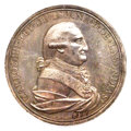 "Mexico, Mexico: Charles IV silver ""Guanajuato Miners"" Proclamation Medal1790 MS62 NGC,..."