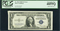 Error Notes:Gutter Folds, Fr. 1614 $1 1935E Silver Certificate. PCGS Extremely Fine 40PPQ.....